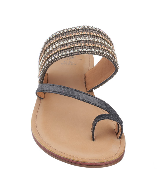 Issy Sandal in Black
