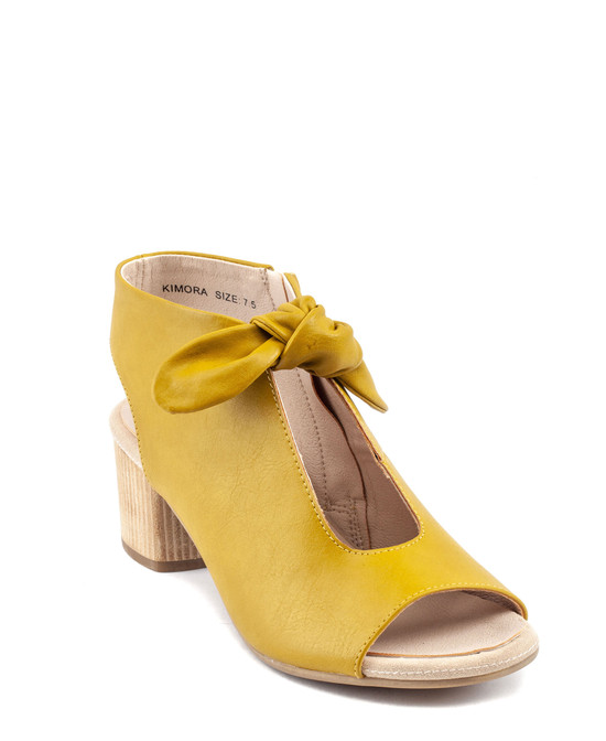 Kimora High Heel in Yellow
