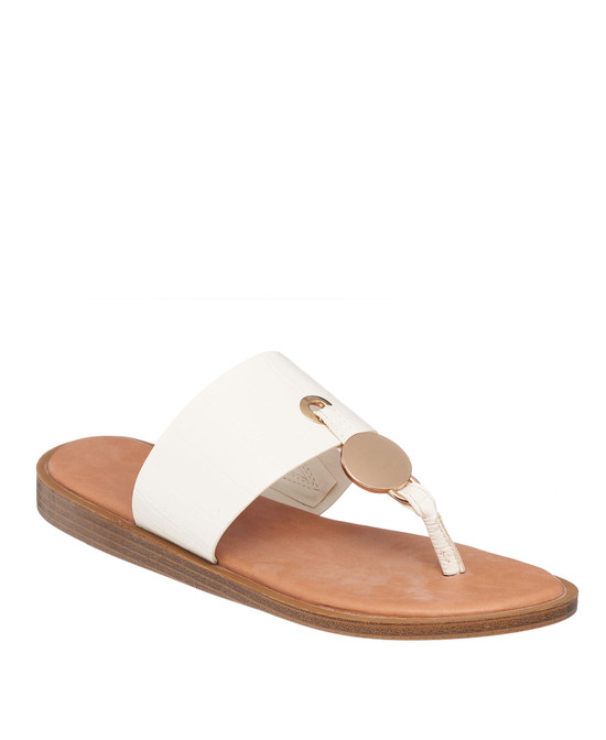 Candice Sandal in White