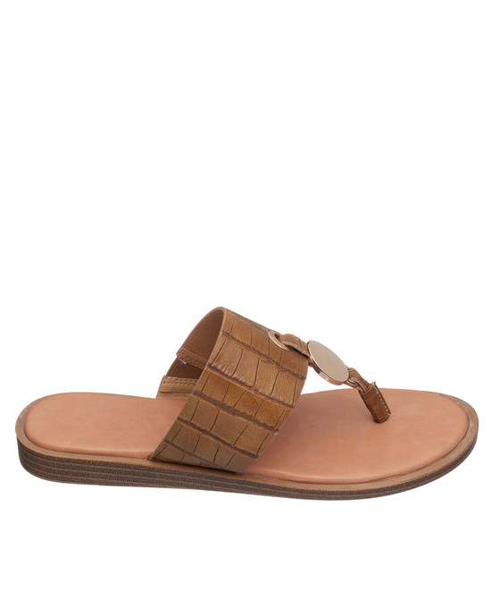 Candice Sandal in Tan