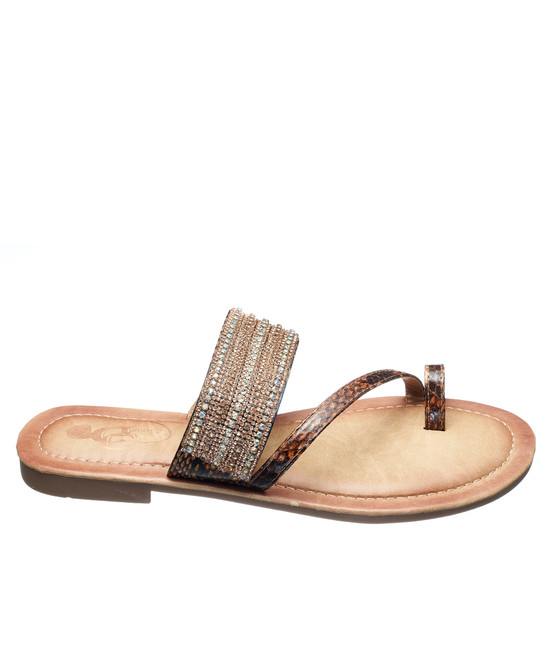 Issy Sandal in Brown