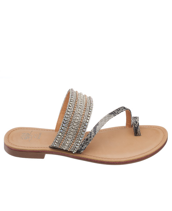 Issy Sandal in Grey