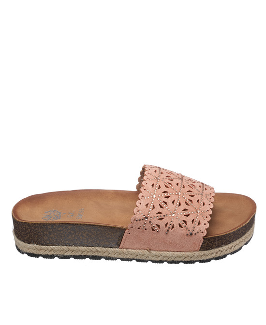 Cathie Sandal in Blush
