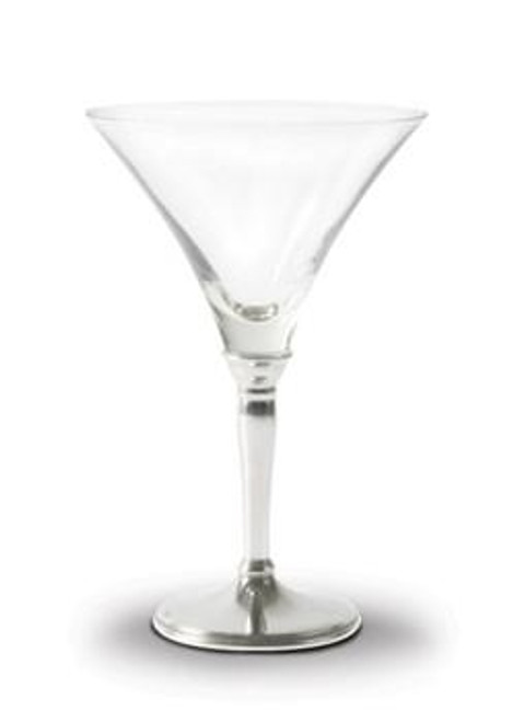 Vagabond House Classic Pewter Stem Cocktail Glass
