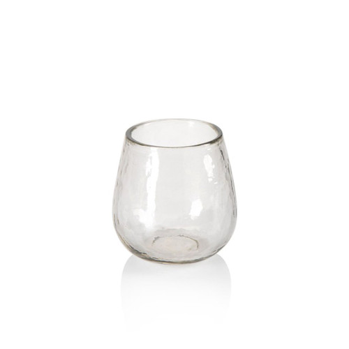 Artisan Hammered  Stemless All-Purpose Glass by Zodax
