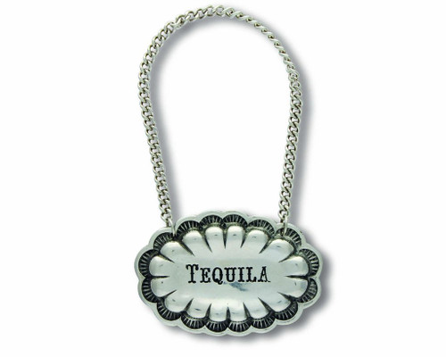 Western Decanter Tag Tequila by Vagabond House