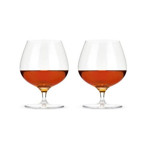 Wingback Brandy Glasses S/2