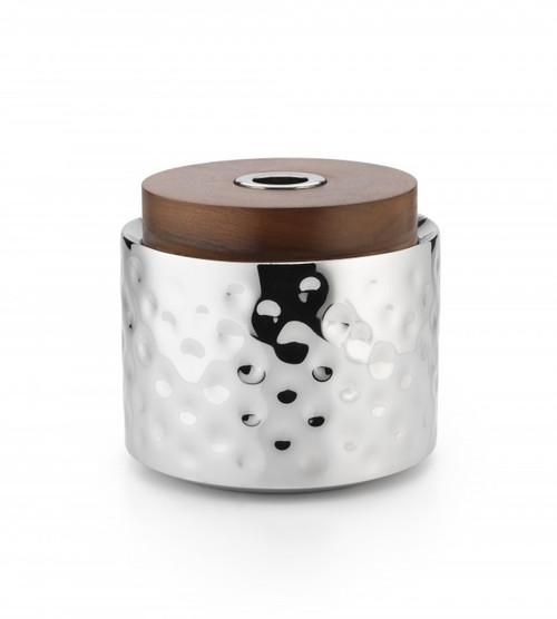 """Sierra Ice Bucket w/Wood Lid 7""""H x 7½""""D"""