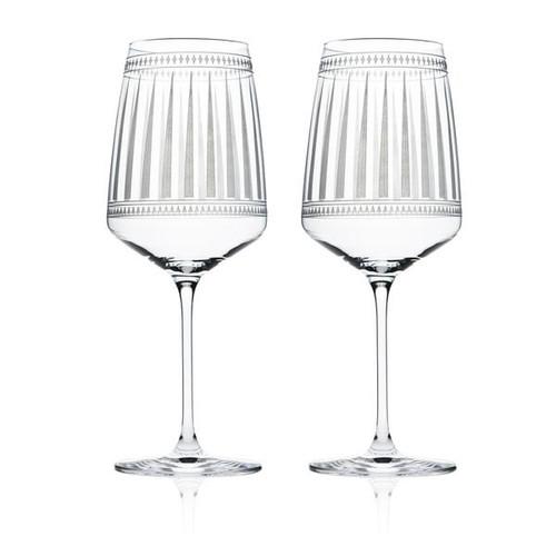 Marrakech White Wine Glasses - Stem