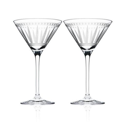 Marrakech Martini Glasses S/2