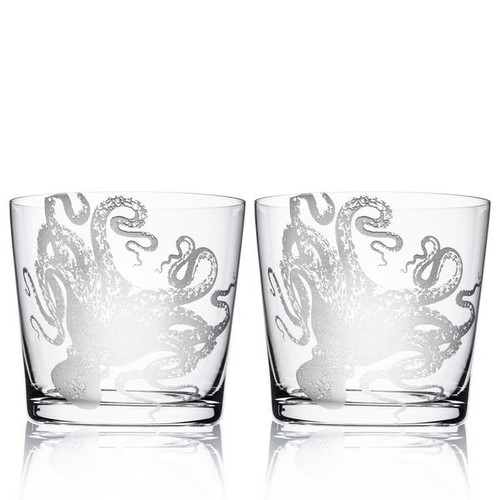 Lucy On-the-Rocks Short Glasses Set of 2