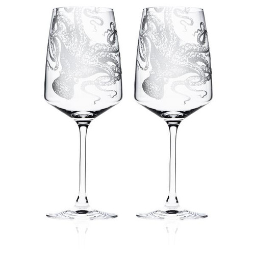 Lucy Red Wine Glasses S/2 - Stem
