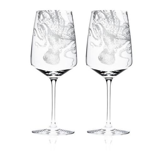 Lucy White Wine Glasses s/2 - Stem