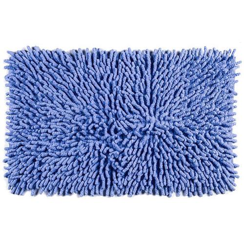 Cotton Chenille Bath Rugs| Blue
