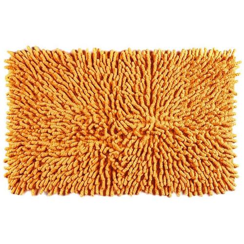 Cotton Chenille Bath Rugs | Orange