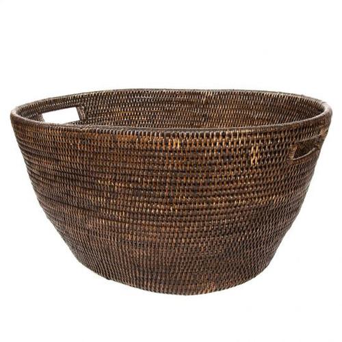 """Laundry Basket 25""""x17""""x12""""   Espresso"""
