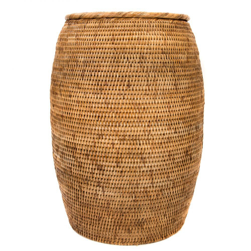 """Laundry Hamper with Lid 12""""x20"""""""