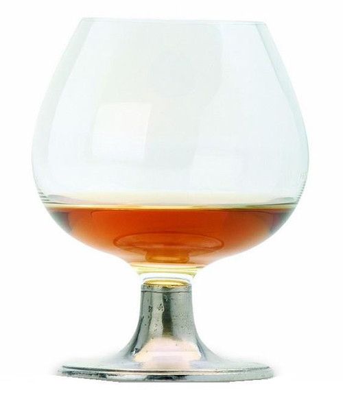 Match Pewter Classic Crystal Cognac Glass