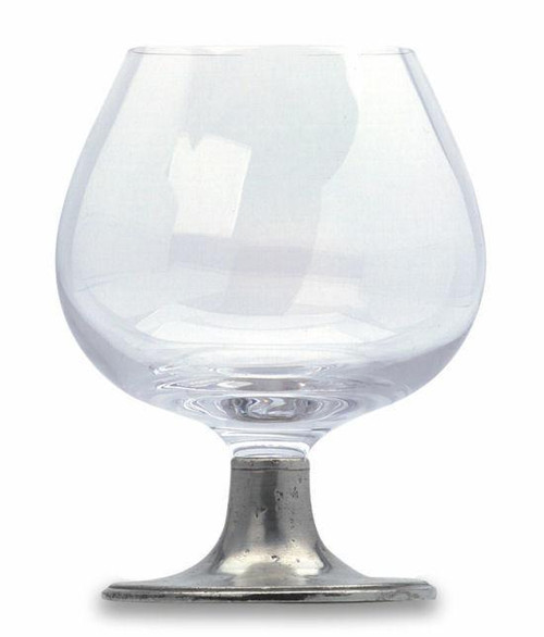 Match Pewter Classic Crystal Cognac Glass (Large)