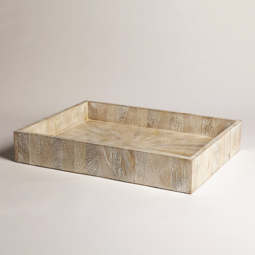 Driftwood Rectangular Tray