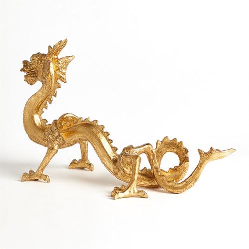 Standing Dragon-Gold Leaf