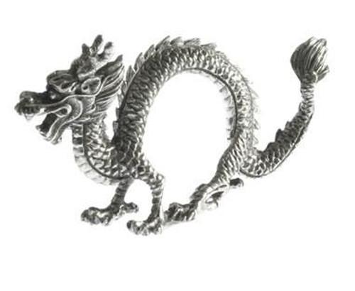 Pewter Dragon Napkin Ring-set of 4