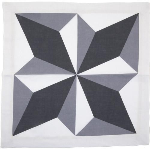 Diamond Light Linen Napkin by Huddleson Linens
