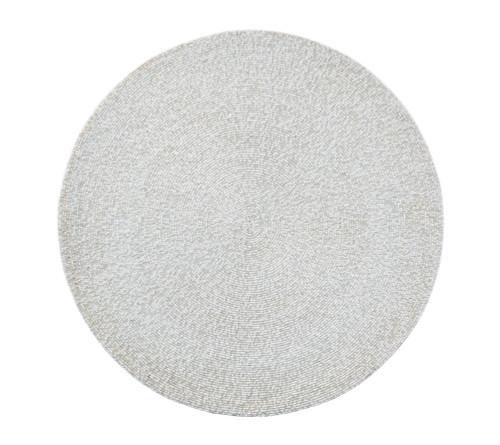 Confetti Placemat S/4   White