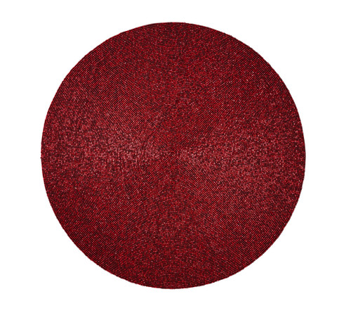Confetti placemats S/4   Red