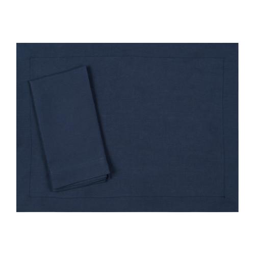 Navy Blue Linen Placemat