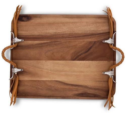 Long Horn Breakfast Tray