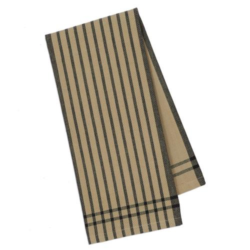 Butcher Block Plaid Kitchen Towel by Design Imports