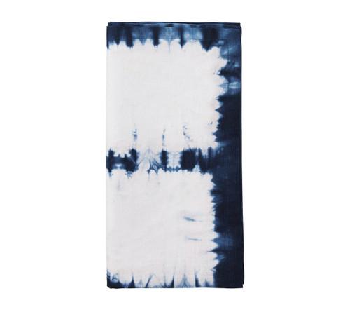 Congo Napkin | White & Blue S/4