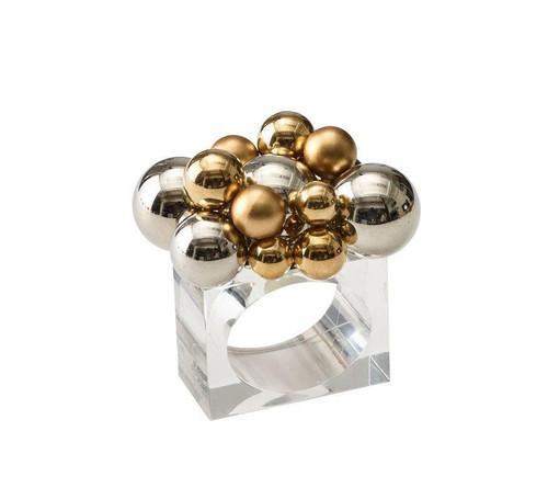 Bauble Napkin Rings S/4