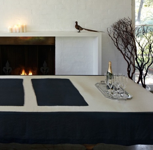 Seagram Table Linens by Huddleson