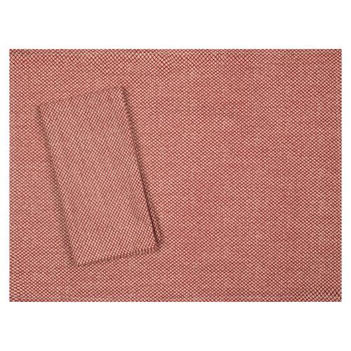 Shibori Red Japanese Cotton Placemat