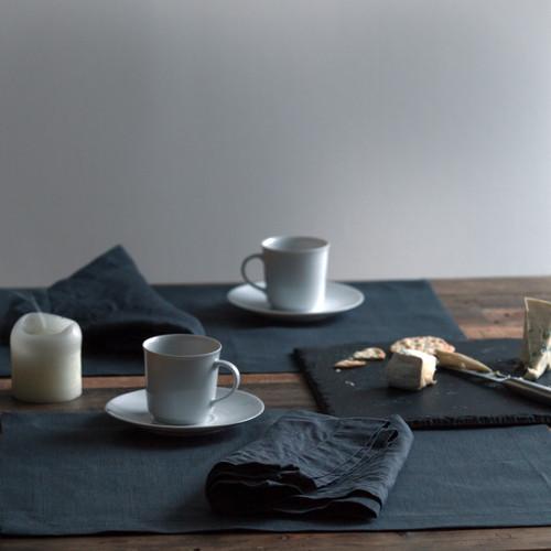 Slate Grey Linen Placemat
