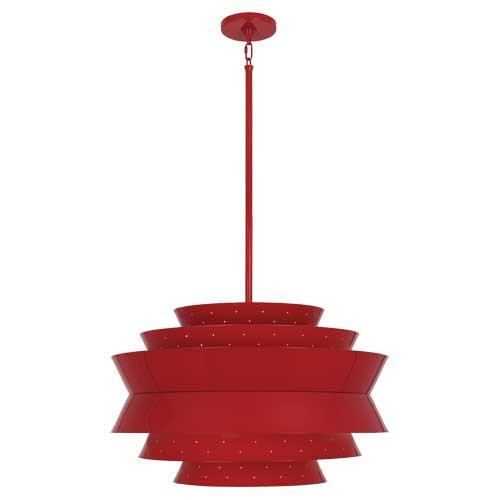 Pierce Pendant | Ruby Red