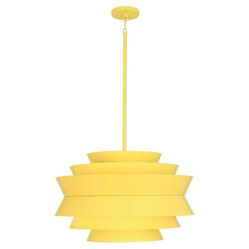 Pierce Pendant | Canary Yellow