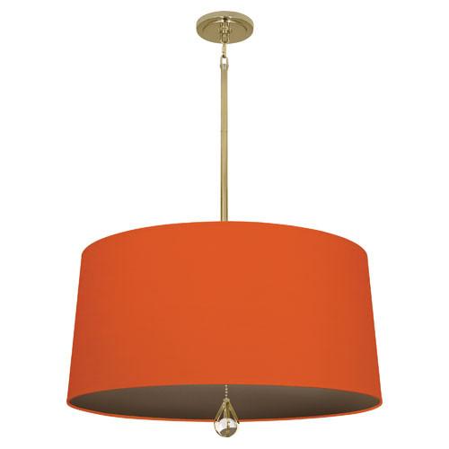 William Of Orange Fabric Shade With Revolutionary Storm Lining