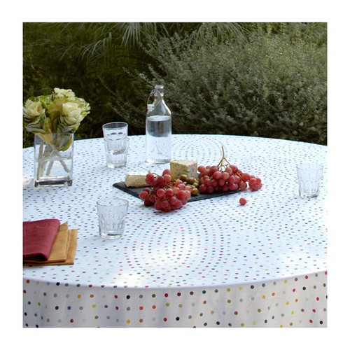 Piccadilly Polka Dot  Linen Table Linens