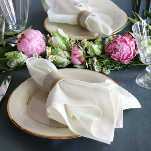 Ivory Linen Placemat