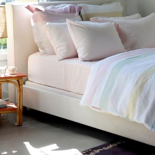 Cinta Pastel Linen Bed Linens