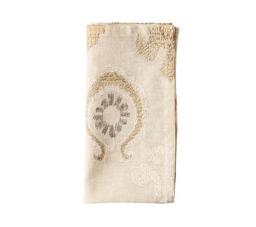 Marrakech Napkin in a natural cotton