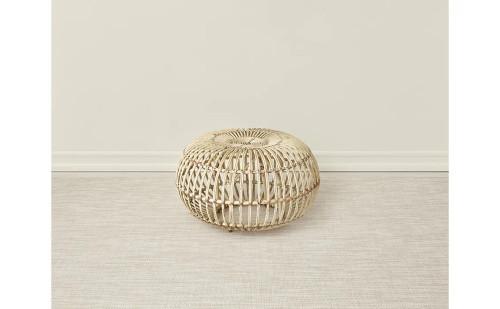 Basketweave Woven Floor Mat by Chilewich   Khaki
