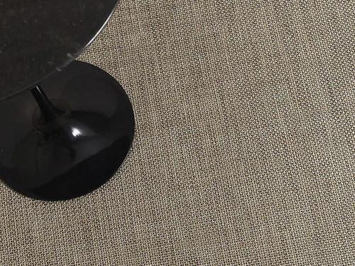 Basketweave Woven Floor Mat by CHILEWICH   Latte