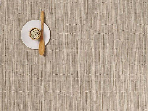 Chilewich Bamboo Rectangular Placemat - Oat