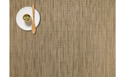 Chilewich Bamboo Rectangular Placemat - Camel