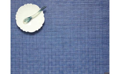 Bay Weave Rectangular Placemat - Blue Jean