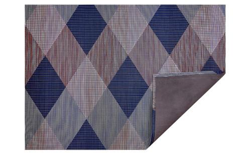 Signal Woven Floor Mat   Twilight